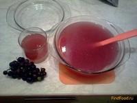 Рецепт Виноградный кисель рецепт с фото
