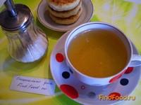Рецепт Чай зеленый с апельсиновой цедрой и мятой рецепт с фото