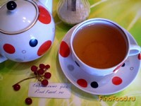 Рецепт Зеленый чай с калиной рецепт с фото
