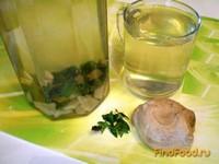 Рецепт Имбирный напиток с мятой и мёдом рецепт с фото