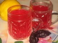 Рецепт Напиток из базилика с лимоном рецепт с фото