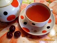 Рецепт Чай черный с мятой и вишней рецепт с фото
