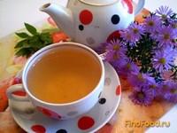 Рецепт Шиповниковый чай с мятой и калиной рецепт с фото