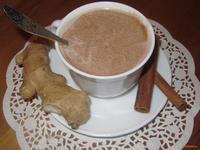 Рецепт Имбирное какао с корицей и ванилью рецепт с фото