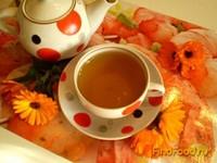 Рецепт Зеленый чай с календулой рецепт с фото