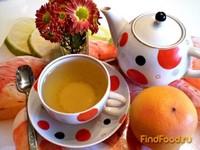 Рецепт Чай с шиповником и апельсиновой цедрой рецепт с фото