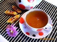 Рецепт Черный чай с мятой и лепестками календулы рецепт с фото