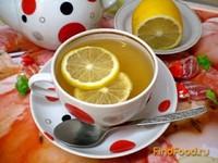 Рецепт Черный чай с мятой и лимоном рецепт с фото