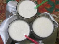 Рецепт Молочный коктейль с бананом и мороженым рецепт с фото