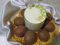 Рецепт Коктейль с ананасом и киви рецепт с фото
