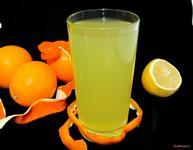 Рецепт Апельсиново-лимонный лимонад рецепт с фото