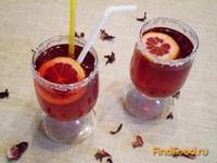 Рецепт Алкогольный коктейль с суданской розой рецепт с фото