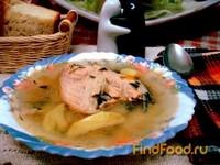 Рецепт Рыбный суп из лосося рецепт с фото