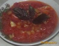 Рецепт Борщ с болгарским перцем рецепт с фото