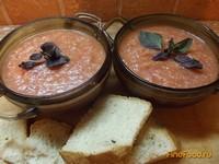 Рецепт Гаспачо классический с хлебом рецепт с фото