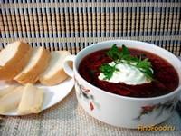 Рецепт Свекольник горячий рецепт с фото