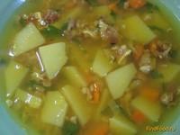 Рецепт Гороховый суп с копчеными ушками рецепт с фото