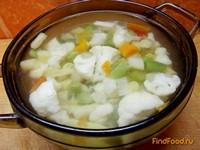 Рецепт Итальянский суп с овощами аль денте рецепт с фото