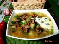 Рецепт Грибной суп рецепт с фото