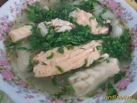 Рецепт Уха из красной рыбы эконом вариант рецепт с фото