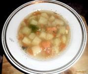 Рецепт Быстрый рыбный суп с неркой рецепт с фото