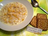 Рецепт Молочная овсянка с тыквой рецепт с фото