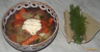 Рецепт Овощной суп с сельдереем рецепт с фото