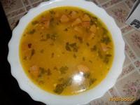 Рецепт Сырный суп с колбасой рецепт с фото