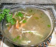 Рецепт Суп с куриной печенью рецепт с фото