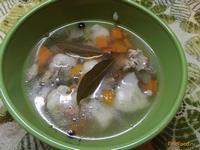 Рецепт Суп с цветной капустой и растительным маслом рецепт с фото