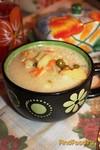 Рецепт Сырный суп с зеленым горошком рецепт с фото