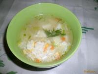 Рецепт Постный рисовый суп рецепт с фото