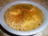 Рецепт Суп со стручковой фасолью рецепт с фото