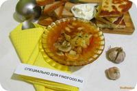 Рецепт Борщ с куриной грудкой и грибами рецепт с фото