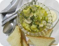 Рецепт Суп на курином бульоне с пельменями рецепт с фото