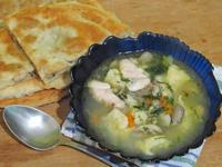 Рецепт Суп с галушками и грибами рецепт с фото