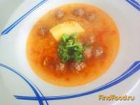 Рецепт Суп с фрикадельками и пастой лингвини рецепт с фото