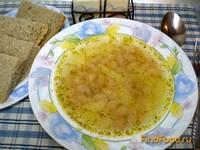 Рецепт Постный фасолевый суп с укропом рецепт с фото