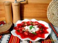 Рецепт Красный борщ с фасолью рецепт с фото
