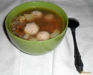 Рецепт Суп с фрикадельками и гречкой рецепт с фото