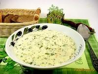Рецепт Суп со шпинатом и сливками рецепт с фото