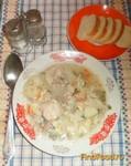 Рецепт Куриный суп с цветной капустой рецепт с фото