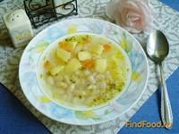 Рецепт Суп фасолевый с овсянкой рецепт с фото