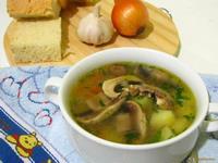 Рецепт Суп вермишелевый с шампиньонами рецепт с фото