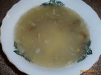 Рецепт Постный пшенный суп с грибами рецепт с фото