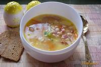 Рецепт Суп с фасолью и беконом рецепт с фото