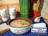 Рецепт Суп из овсяных хлопьев и сыра рецепт с фото