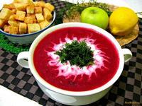 Рецепт Свекольный суп-пюре рецепт с фото