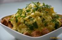 Рецепт Яично сырный салат рецепт с фото
