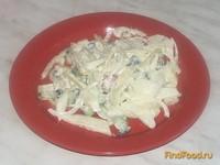 Рецепт Салат овощной с имбирным соусом рецепт с фото